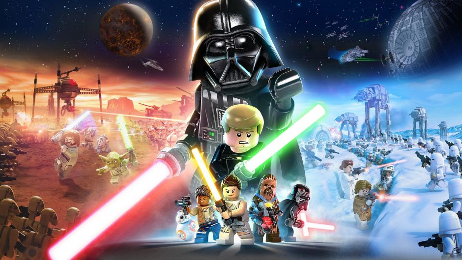 In Lego Star Wars: The Skywalker Saga we can play with 300 characters and visit 23 planets