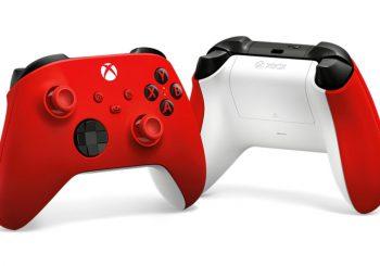 Xbox Series estrena nuevo color de mando: Pulse Red