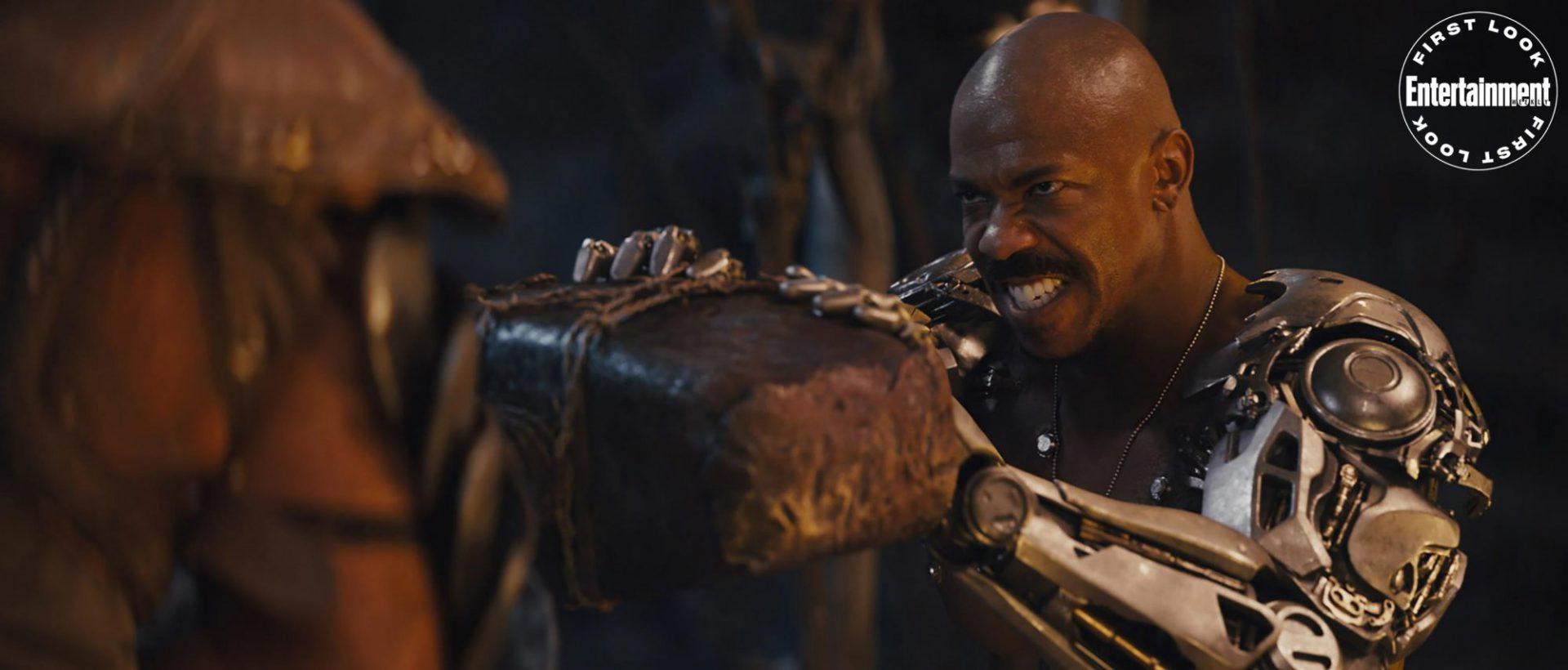 Primeras imágenes del reboot de la película de Mortal Kombat