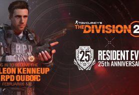 Resident Evil anuncia una colaboración con The Division 2 por motivo de su 25 aniversario