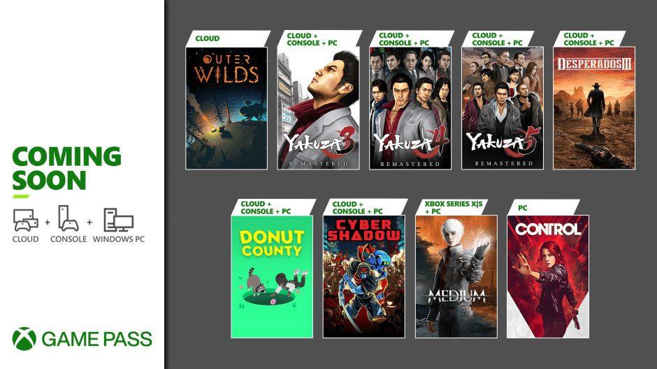 Estos son los juegos que llegan a Xbox Game Pass en la segunda mitad de enero - Desvelados los juegos que llegarán a Xbox Game Pass en las próximas semanas.