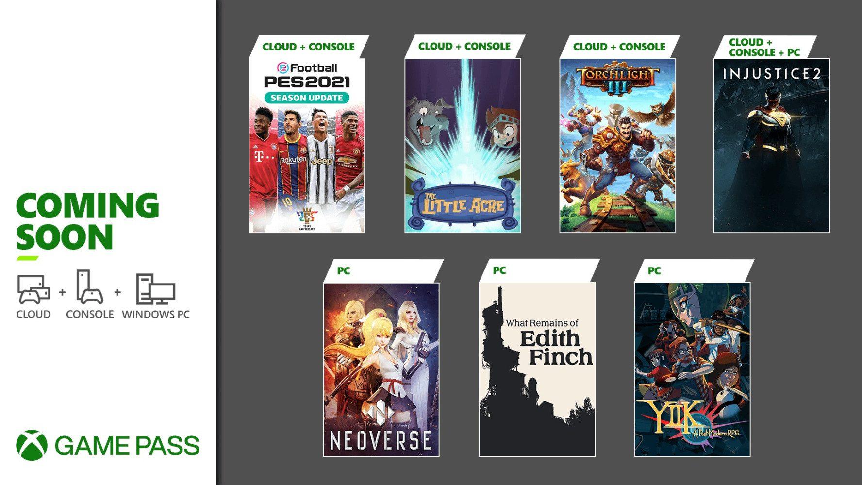 Desvelados los nuevos juegos de Xbox Game Pass para enero