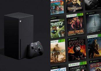 Nuevas mejoras de retrocompatibilidad para Xbox Series X/S llegarán próximamente