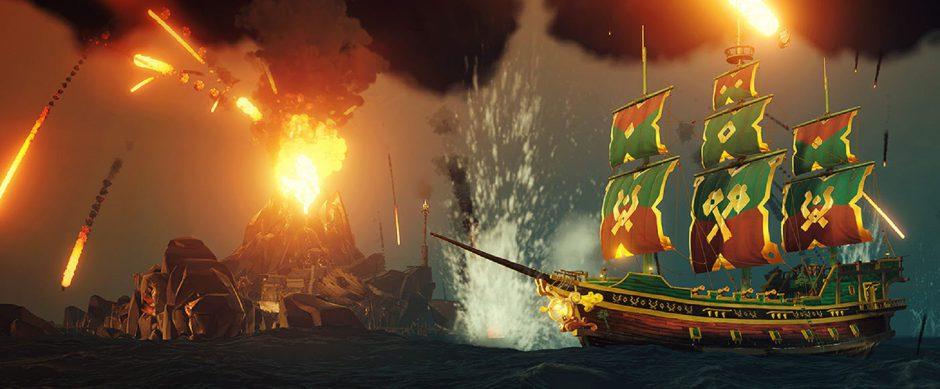 La última actualización del Emporio Pirata de Sea of Thieves llega cargada de amor