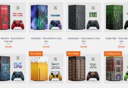Cambia el aspecto de tu Xbox Series X con los vinilos de Extreme Consoles
