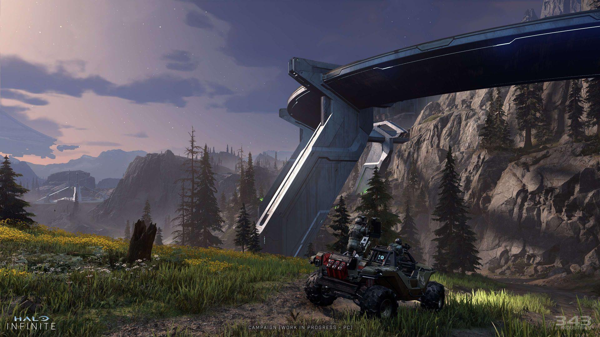 Se muestran nuevas capturas in game de Halo Infinite mostrando una gran mejoría respecto a la demo de julio - 343 Industries ha soltado una nueva tanda de información sobre Halo Infinite y ha mostrado nuevas imágenes sobre Zeta Halo.