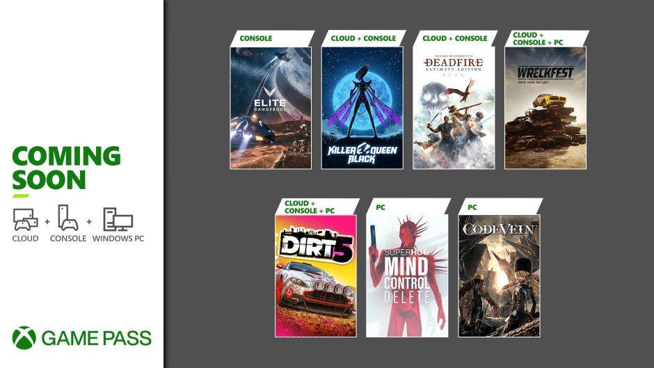 Desvelada la segunda tanda de juegos que llegan este mes a Xbox Game Pass - Ya conocemos los títulos que llegarán a Xbox Game Pass en la segunda oleada de febrero de 2021. Juegazos.