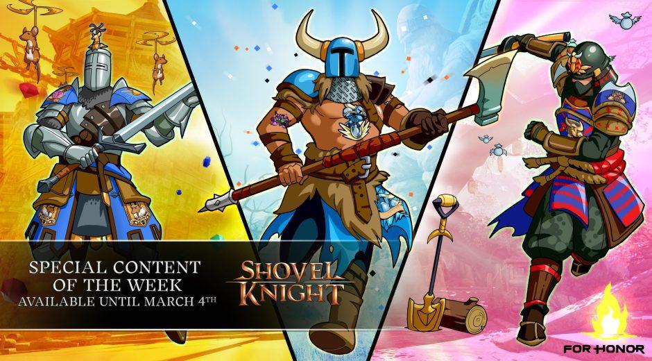 Shovel Knight llega a For Honor por tiempo limitado
