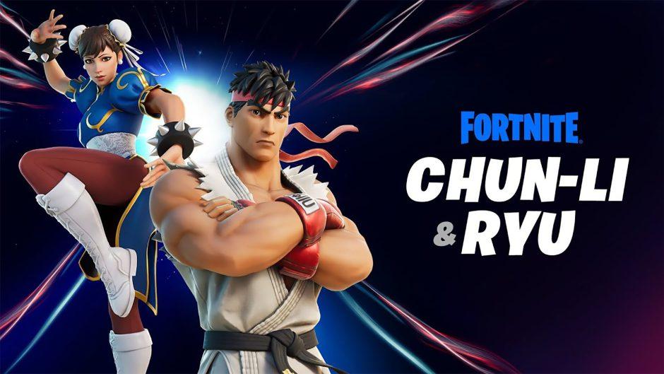Ryu y Chun-Li de Street Fighter se unen oficialmente a Fortnite