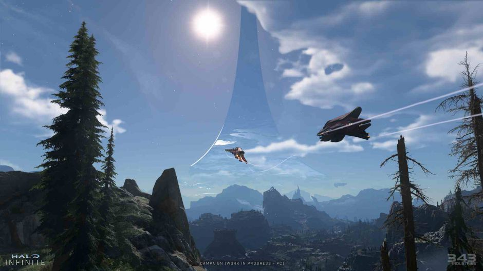 343 Industries explica como fue la creación del mapa de Halo Infinite
