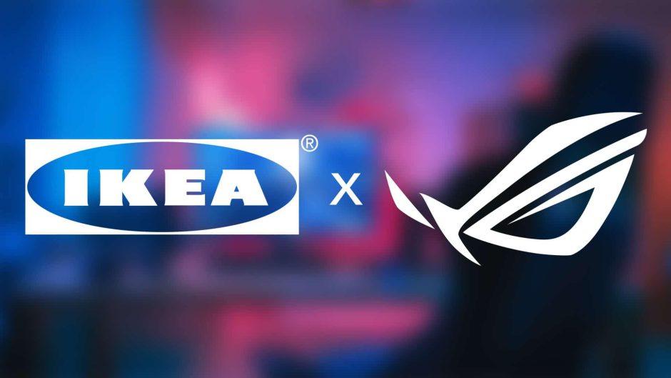 IKEA y ASUS lanzan una nueva línea de muebles para gamers