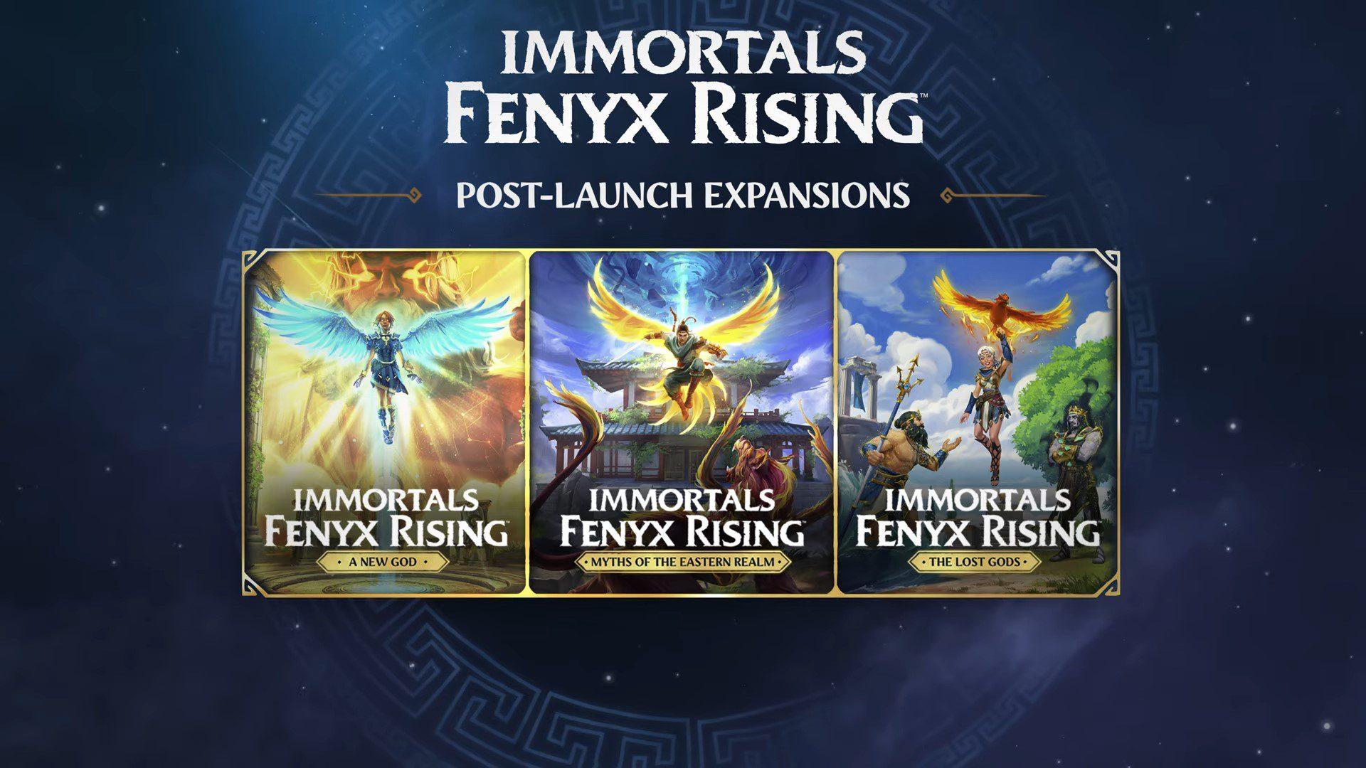 immortals fenyx rising a new god - generacion xbox