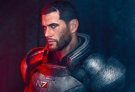 Un fan de Mass Effect personaliza su Xbox Series X con los colores de la armadura de Shepard