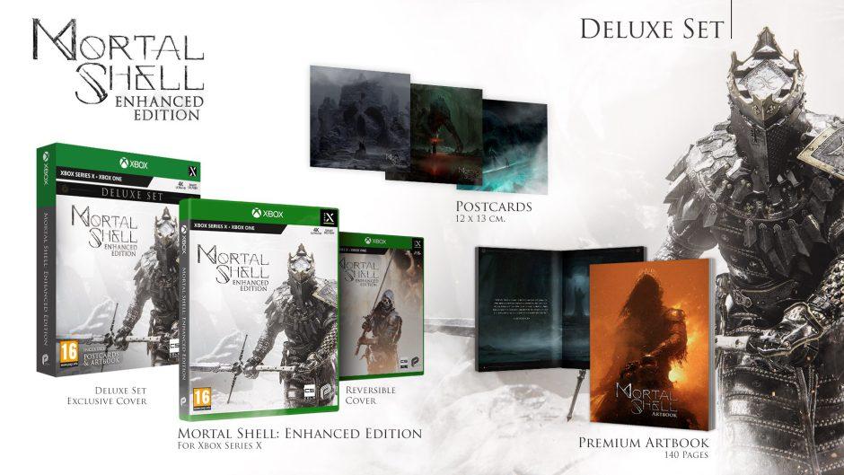 Anunciado Mortal Shell Enhanced Edition Deluxe para Xbox Series, brutal edición física