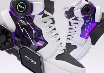 Así son las Sneakers Master Race de NZXT, ¡las mejores zapatillas del mundo!