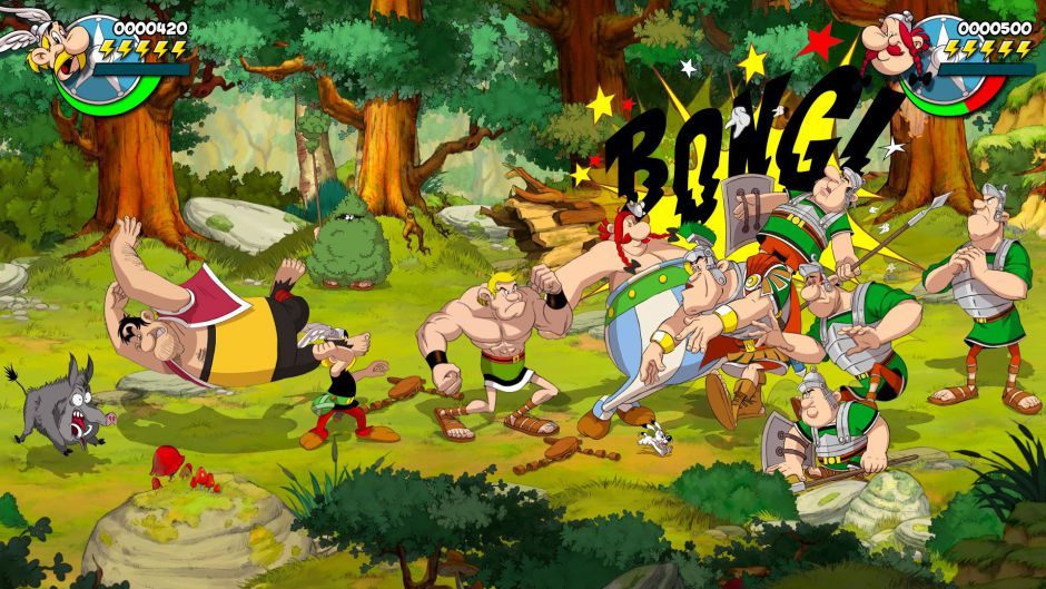 The Gauls return in Asterix and Obelix Slap them all!