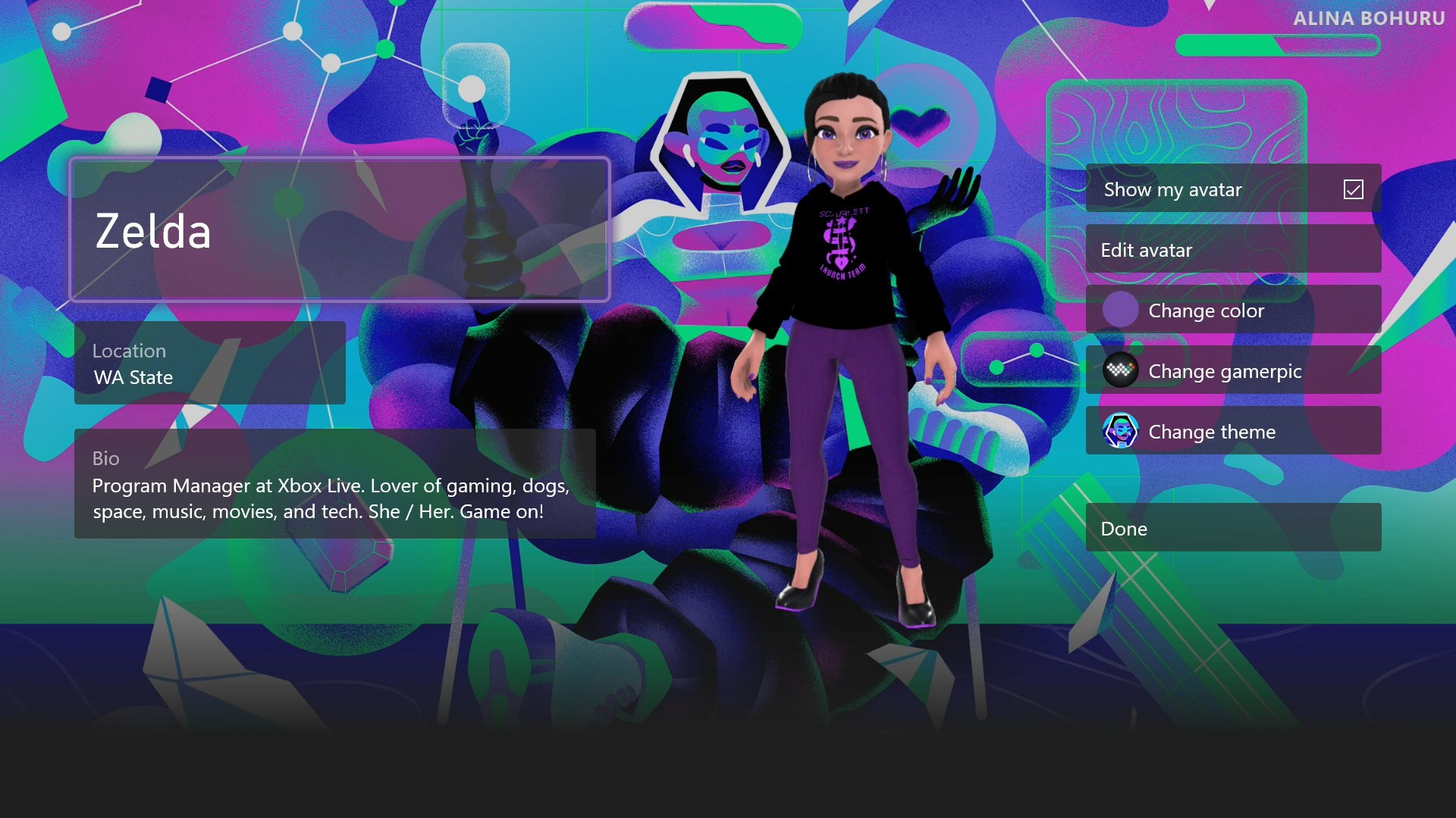 Microsoft añade 7 nuevos temas de perfil en Xbox