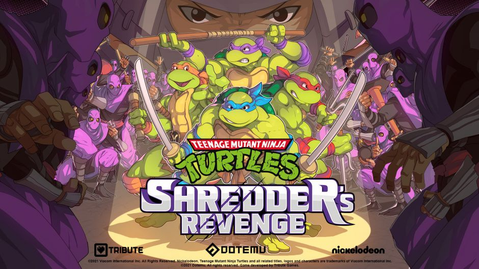Brutal gameplay de Teenage Mutant Ninja Turtles: Shredder's Revenge