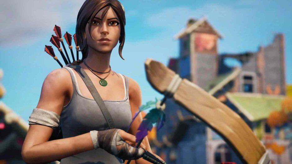 Ya disponible la skin de Lara Croft en Fortnite