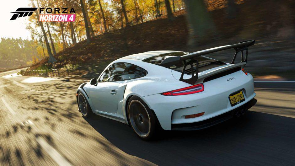 Forza Horizon 4 está regalando a todos los jugadores este espectacular Porsche
