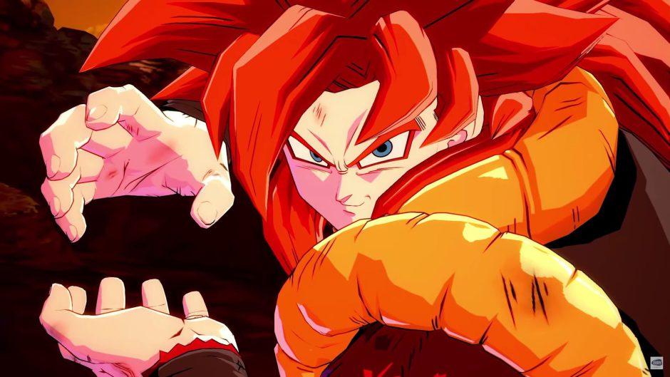 Fecha de lanzamiento para Gogeta SS4 en Dragon Ball FighterZ