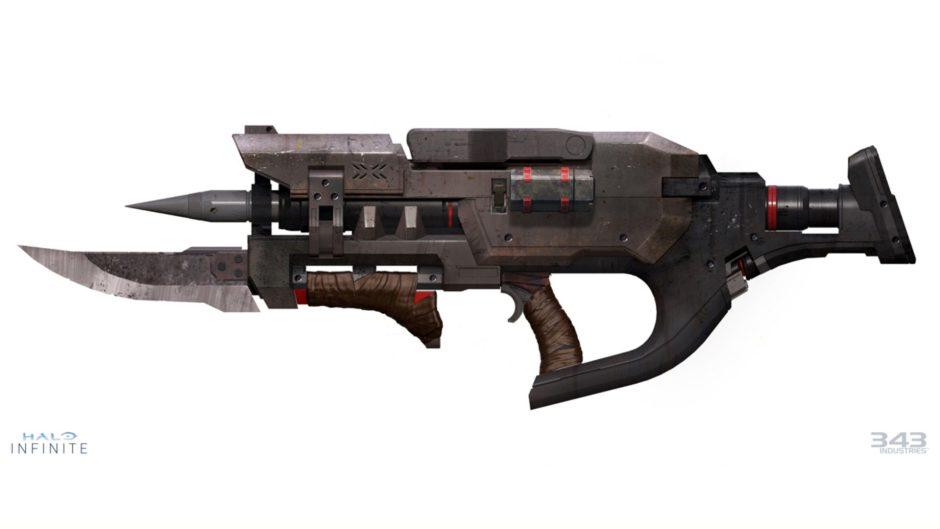 343 Industries revela un nuevo arma de Halo Infinite
