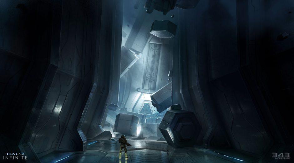 343 Industries muestra los sonidos dentro de estructuras Forerunner en Halo Infinite