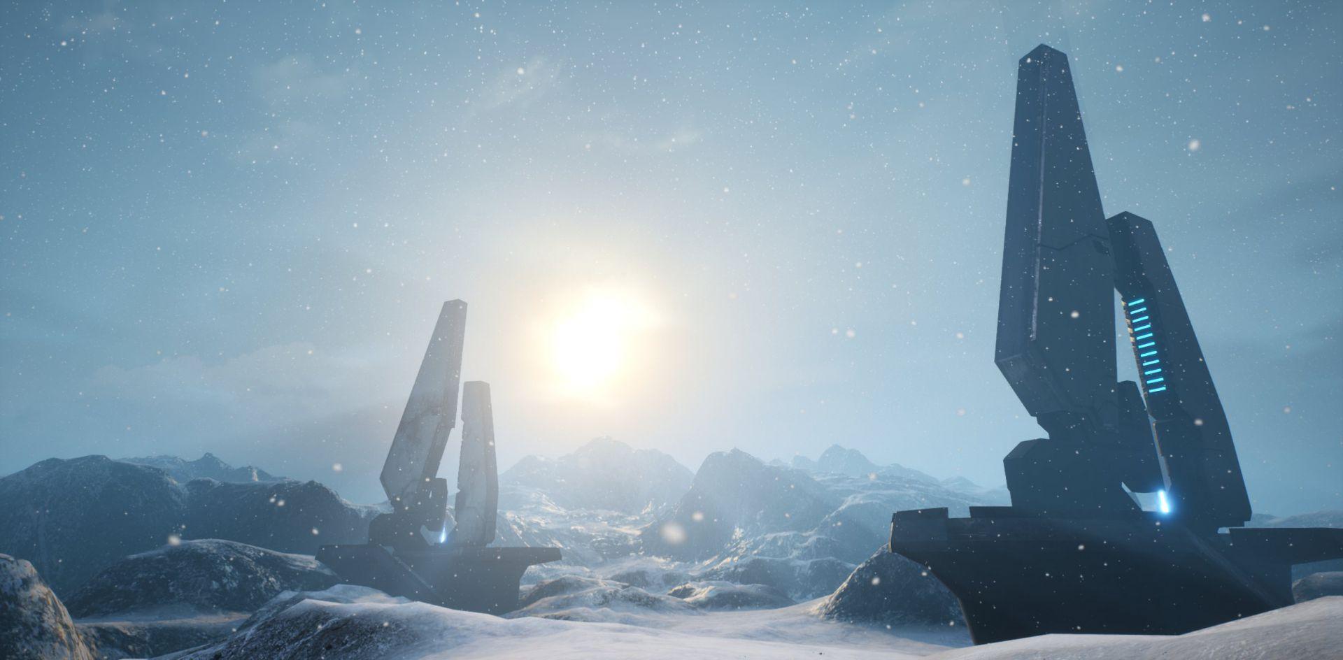 El creador de Halo Unreal muestra como su proyecto hace uso del ciclo de día y noche en diferentes biomas