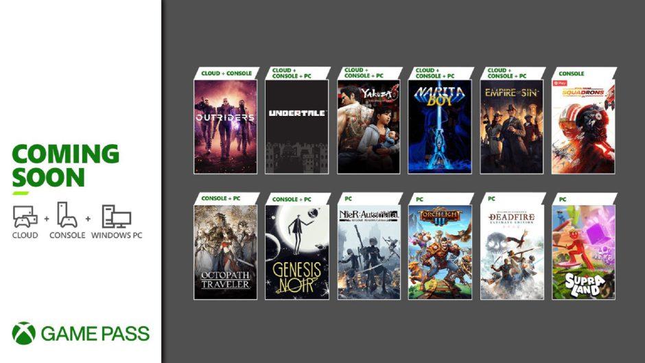 Vota: ¿Qué os parecen los nuevos juegos de marzo para Xbox Game Pass?