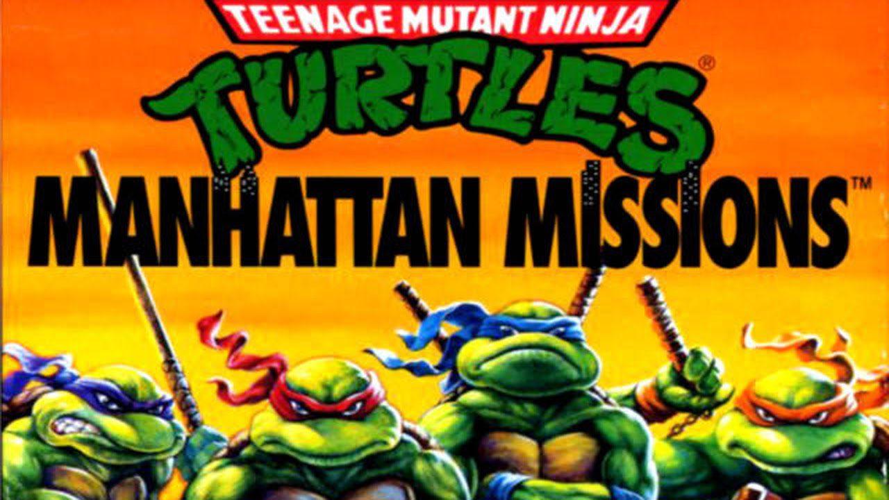 Teenage mutant ninja turtles - DOS - generacion xbox