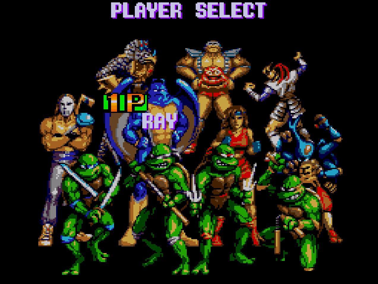 Teenage mutant ninja turtles - Fighters- generacion xbox
