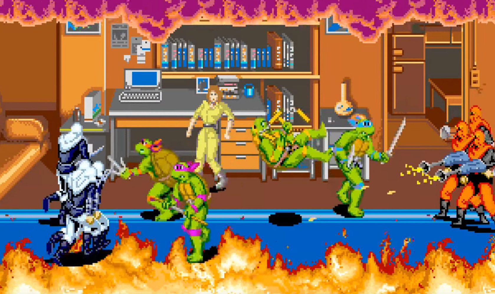 Teenage mutant ninja turtles - arcade - generacion xbox