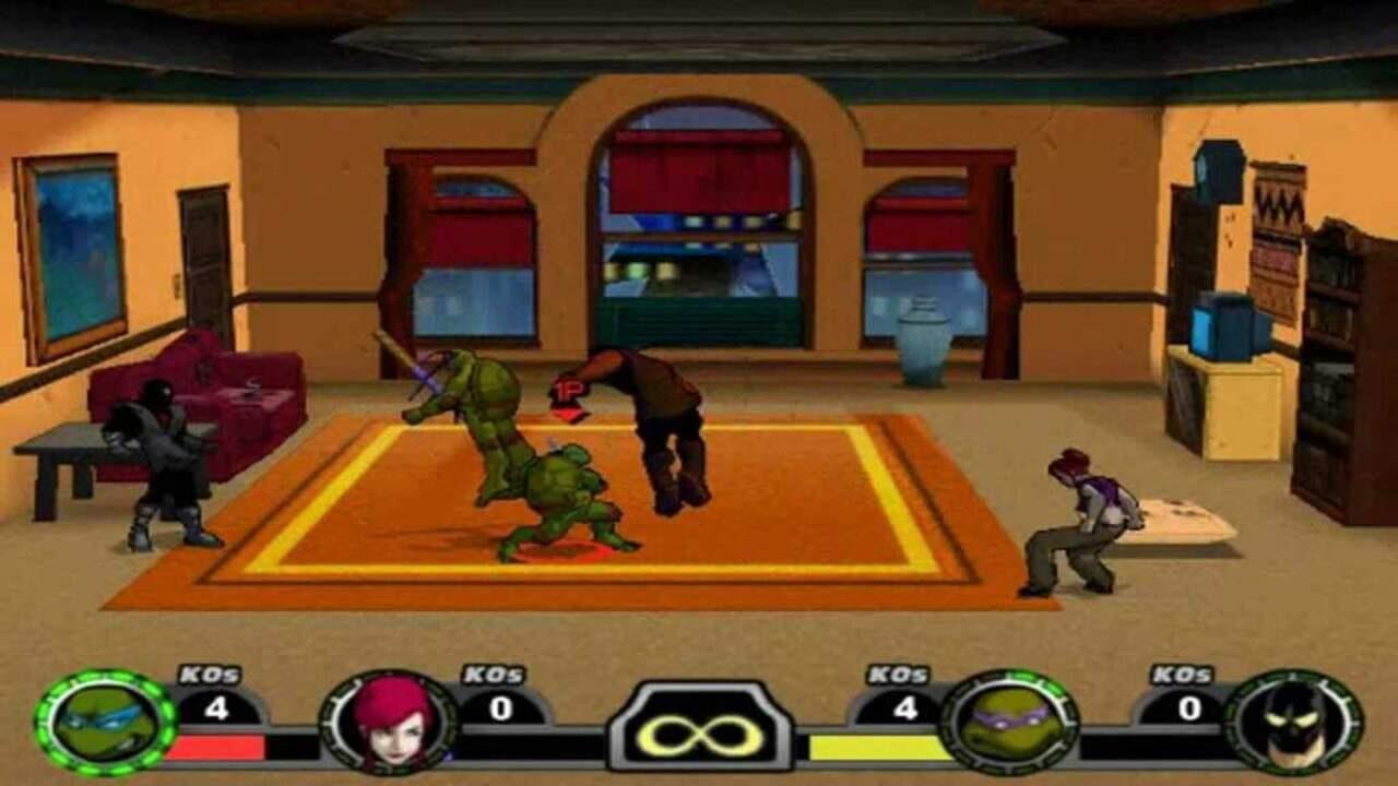 Teenage mutant ninja turtles - melee - generacion xbox
