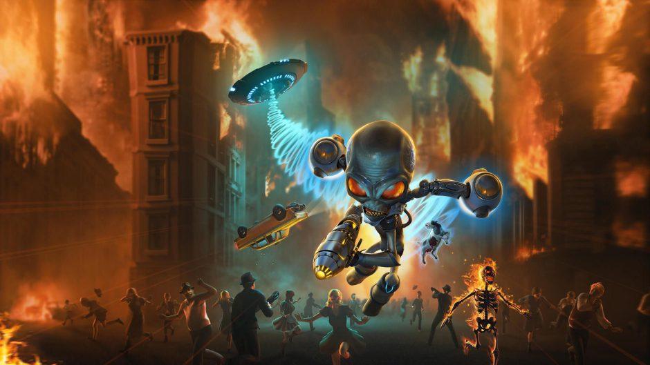 PlayStation filtra el nuevo Destroy All Humans 2 Reprobed