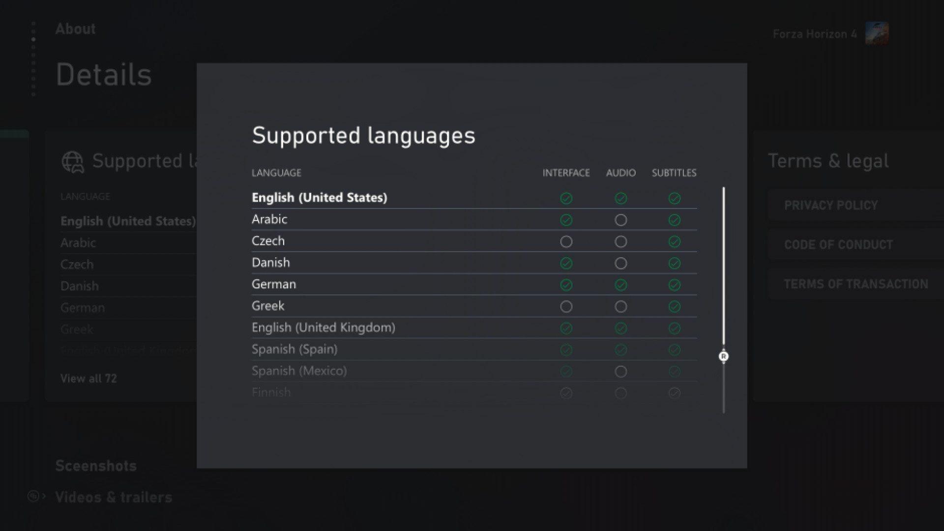 Xbox mejora la consulta de idiomas soportados en todos sus listados de juegos - Al fin podremos saber perfectamente si el próximo Halo vendrá doblado. Mejoran las listas de idiomas soportados en la Store.