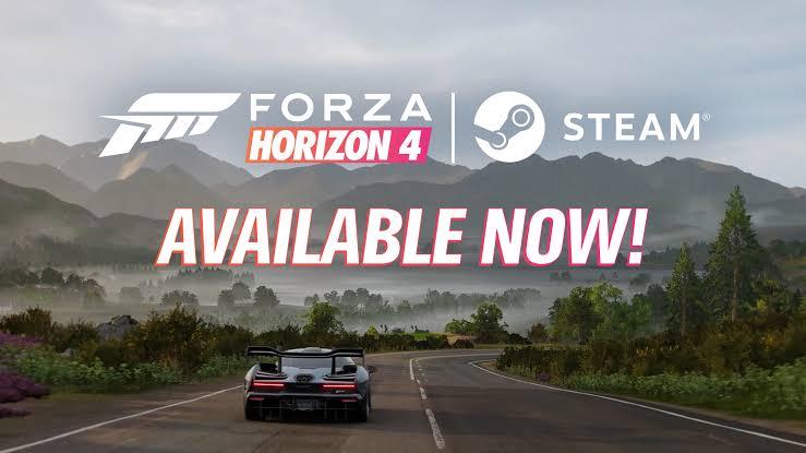 Forza Horizon 4, ya esta disponible en Steam
