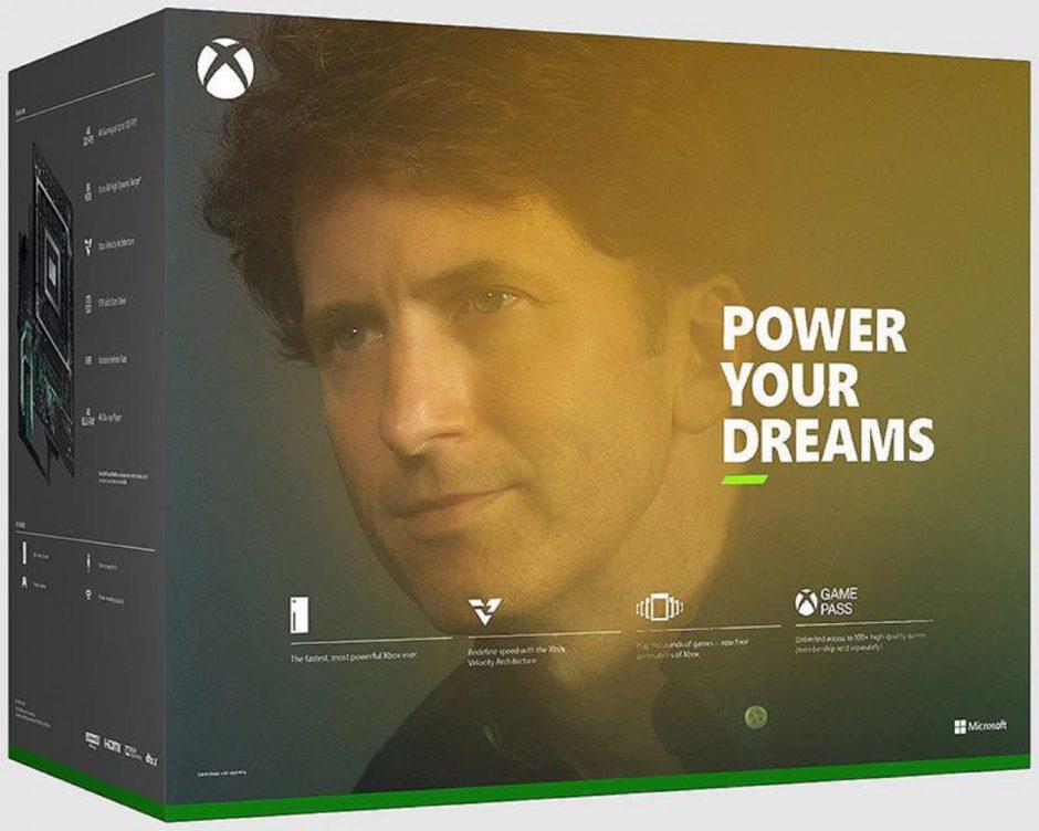 A Todd Howard la gusta el meme en el que sale su cara en la caja de una Xbox Series X
