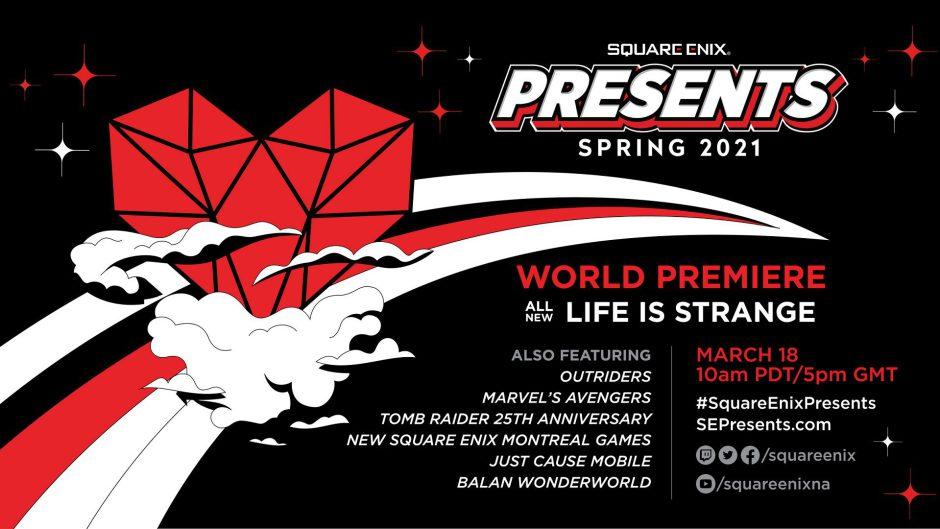 Square Enix anuncia el evento digital Square Enix Presents