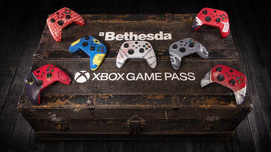 Xbox regalará mandos personalizados de Bethesda y te contamos como participar