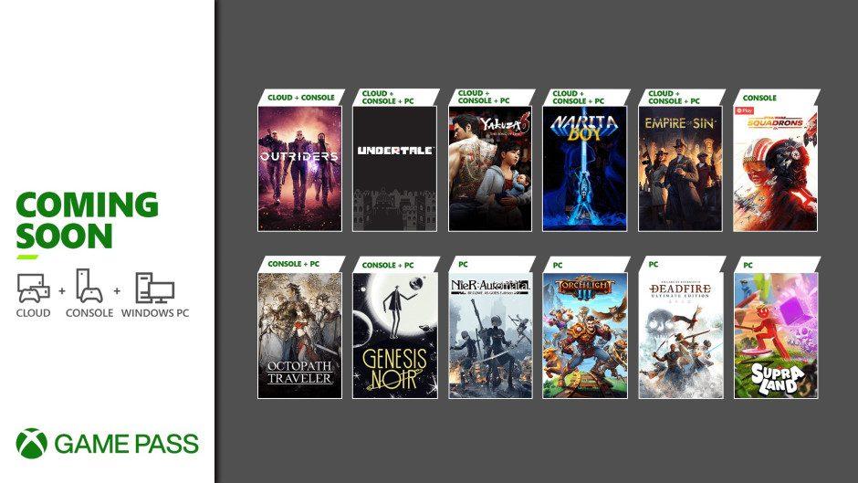 Desvelados los siguientes juegos que llegan a Xbox Game Pass en marzo