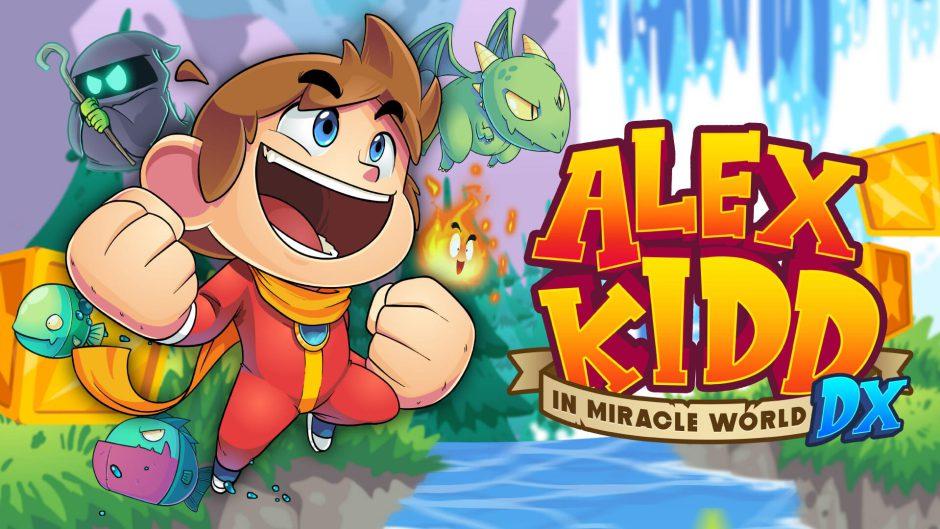 El clásico de SEGA Alex Kidd in Miracle World DX llegará en forma de remake para Xbox One y Xbox Series