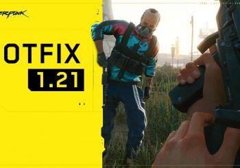 CD Projekt Red lanza el parche 1.21 de Cyberpunk 2077 de forma inesperada
