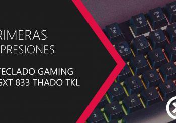No te pierdas nuestras impresiones del teclado Trust GXT 833 Thado TKL