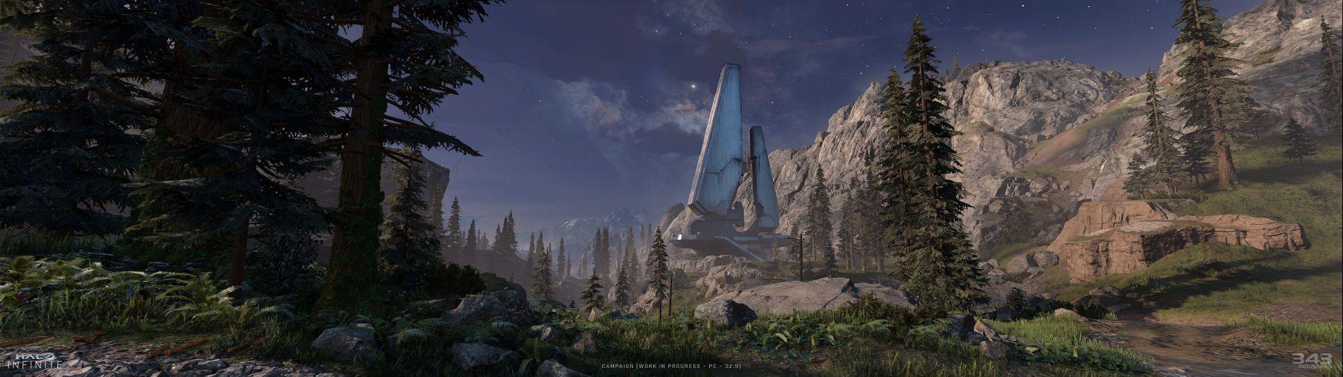 343 Industries muestra nuevas capturas de Halo Infinite en ultra panorámico