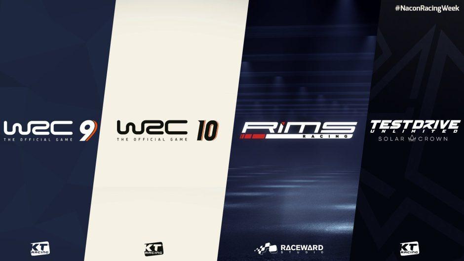 Nacon Racing Week: Tendremos noticias de Test Drive, WRC y RiMS muy pronto