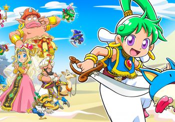 Así será Wonder Boy Asha in Monster World