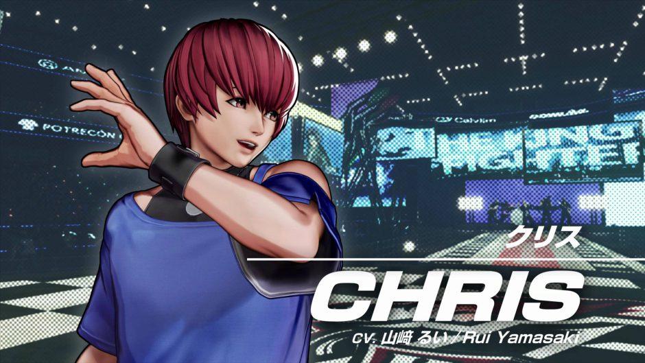 Chris estará oficialmente en King of Fighters 15