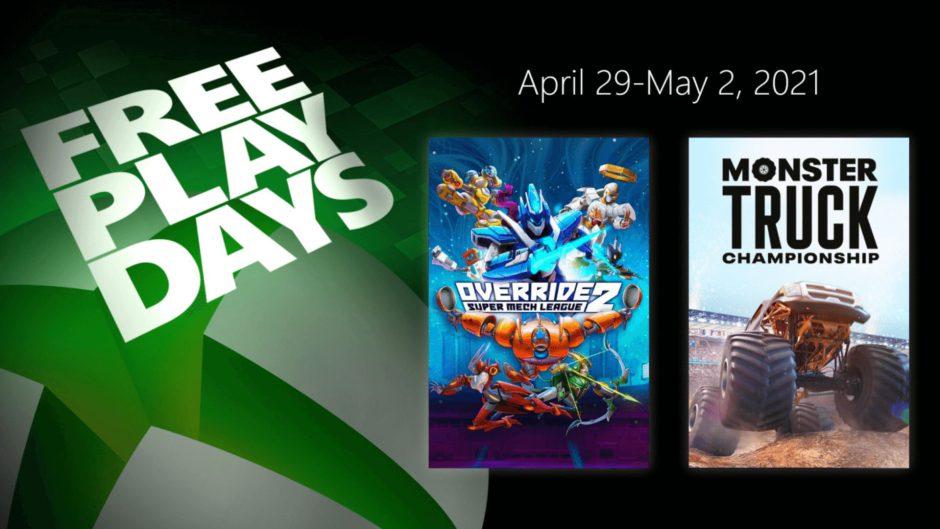 Estos son los juegos que llegan a los Free Play Days