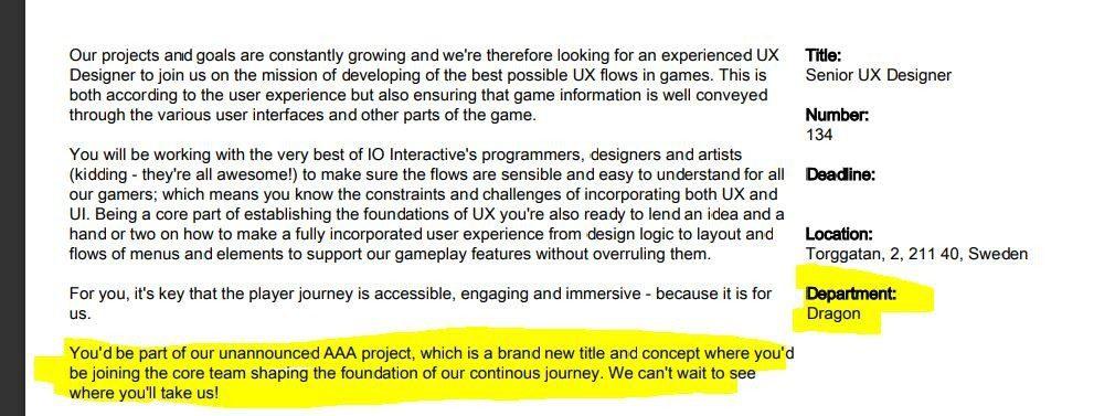 """IO Interactive y Microsoft estarían trabajando en """"Project Dragon"""" un título exclusivo para Xbox - Los creadores de Hitman y Microsoft estarían colaborando juntos en un nuevo exclusivo llamado """"Project Dragon""""."""