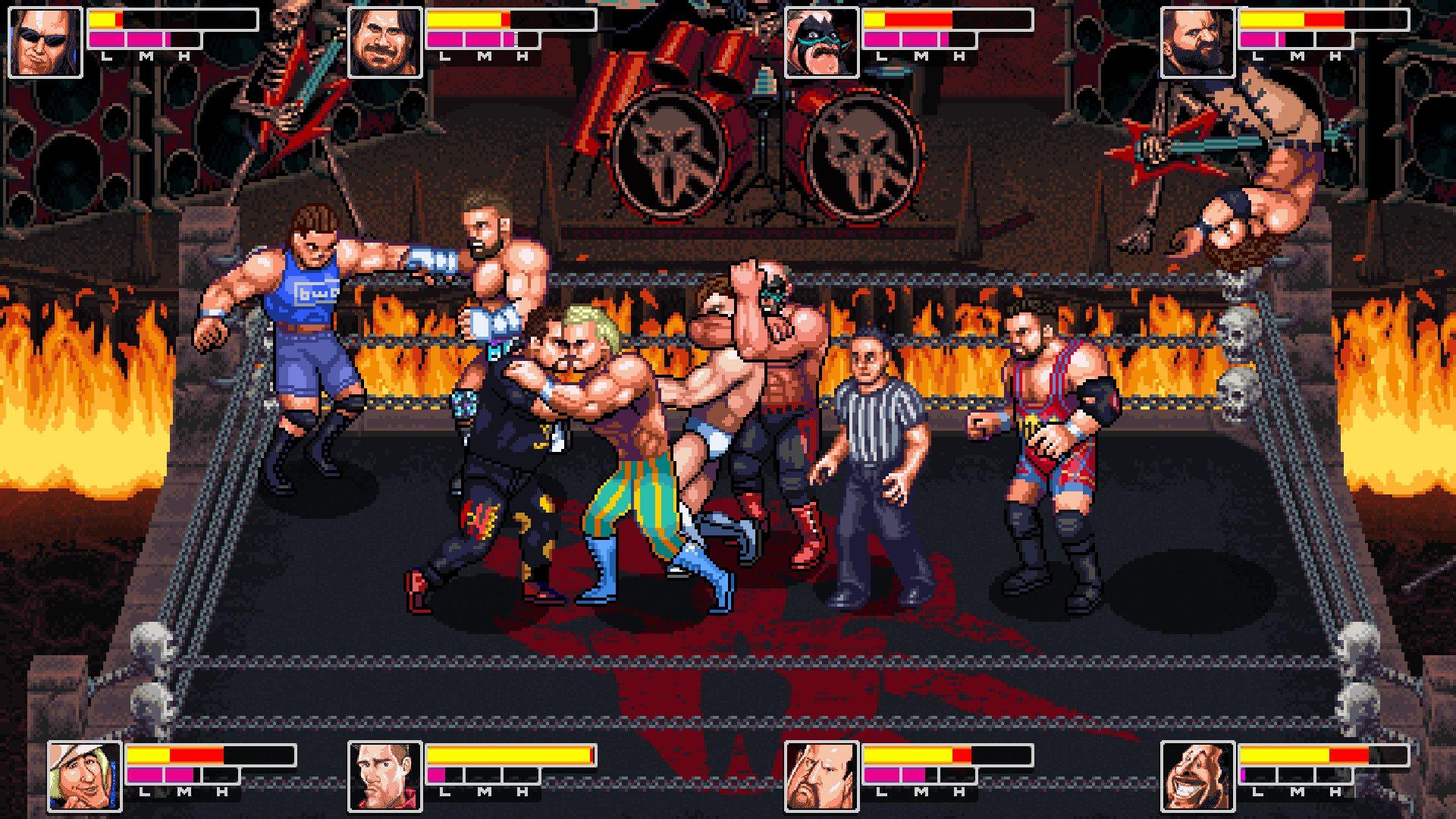 retromania wrestling - generacion xbox